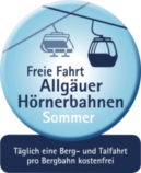 Freie Fahrt Allgäuer Hörnerbahnen Sommer