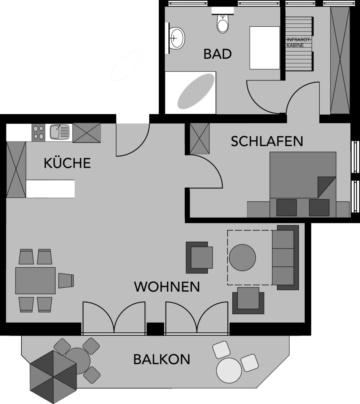 Umrisse App. 402 | weitBLICK - ALPENHAUS Oberstdorf